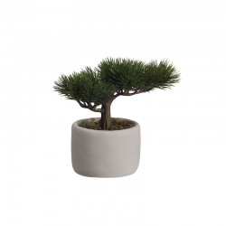 Bonsai Mini Artificial – Deko Verde E Cinza - Asa Selection