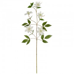 Artificial Clematis Cirrus Twig 78cm - Deko White - Asa Selection
