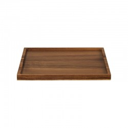 Bandeja Rectangular 32,5cm – Wood Marrón - Asa Selection