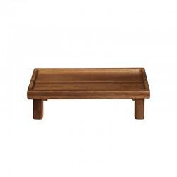 Tabuleiro Retangular com Pés 14cm – Wood Castanho - Asa Selection ASA SELECTION ASA93810970
