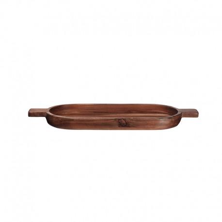 Fuente Ovalada con Mangos - Wood Marrón - Asa Selection ASA SELECTION ASA93916970