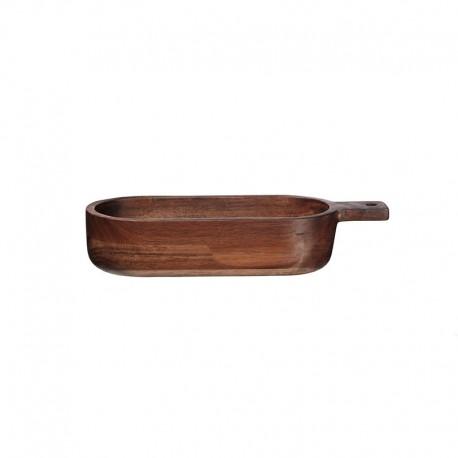 Bol Ovalado con Mango 33,4x6,5cm - Wood Marrón - Asa Selection ASA SELECTION ASA93915970