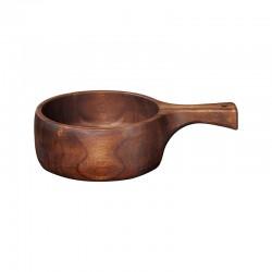 Bol en Madera con Mango 31cm – Wood Marrón - Asa Selection
