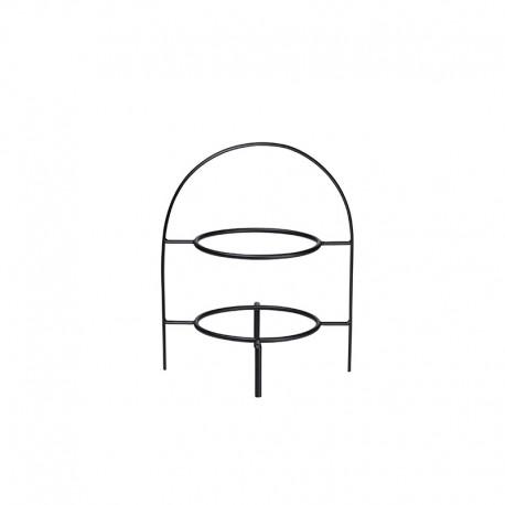 Etagere de 2 Niveles 28cm Negro - A Table - Asa Selection ASA SELECTION ASA99300950