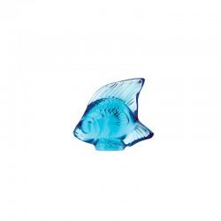 Escultura Pez en Azul Claro - Lalique