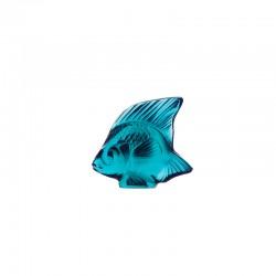 Escultura Peixe em Turquesa - Lalique LALIQUE LQ3000500