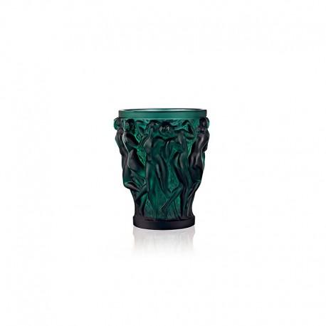 Florero de Cristal Verde Profundo - Bacchantes - Lalique LALIQUE LQ10547700