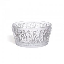 Bol de Cristal Transparente - Bacchantes - Lalique