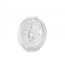 Crystal Vase Clear - Carpe Koi - Lalique LALIQUE LQ10671400