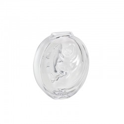 Florero de Cristal Transparente - Carpe Koi - Lalique