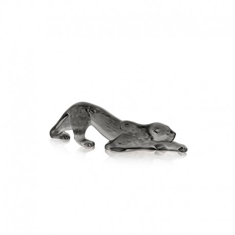 Escultura Pantera Gris - Zeila - Lalique LALIQUE LQ10491800