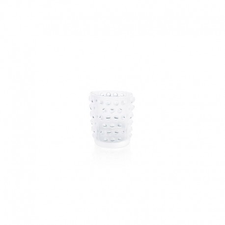 Crystal Candle Holder Transparent – Mossi - Lalique LALIQUE LQ1095600