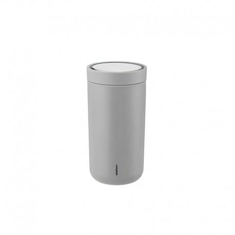 Vaso Térmico Gris Claro Inox 0,2lt - To Go Click - Stelton STELTON STT670-13