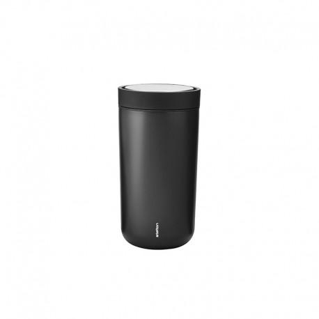 Vaso Térmico Negro Metalizado Inox 0,2lt - To Go Click - Stelton STELTON STT670-16