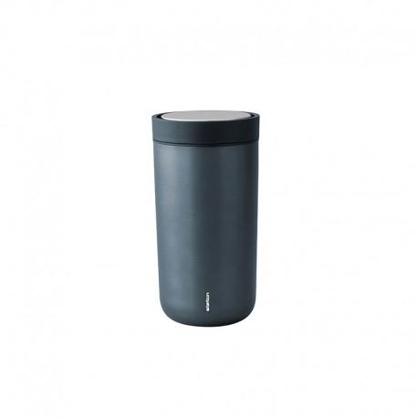 Vaso Térmico Azul Metalizado Inox 0,2lt - To Go Click - Stelton STELTON STT670-18