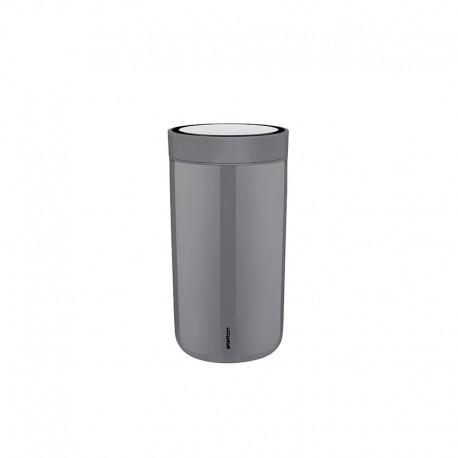 Copo Térmico Cinza Granito 0,2lt - To Go Click - Stelton STELTON STT670-6