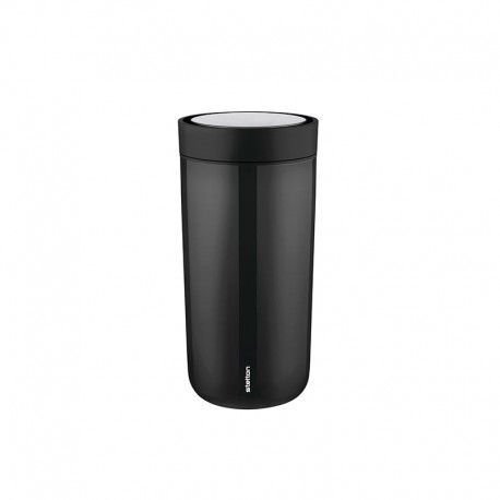 Vaso Térmico Inox Negro 400ml - To Go Click - Stelton STELTON STT680-1