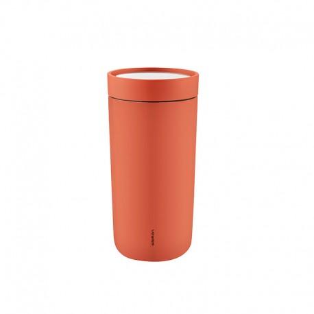 Copo Térmico Inox Rosa Mosqueta 400ml - To Go Click - Stelton STELTON STT680-25