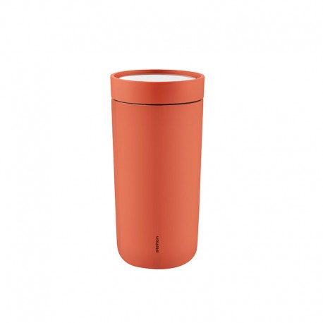 Thermal Cup Inox Soft Rose Hips 400ml - To Go Click - Stelton STELTON STT680-25