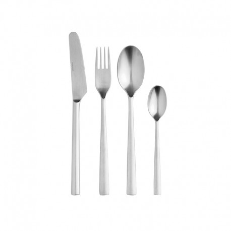 Cutlery Set With 24 Pieces – Chaco Steel - Stelton STELTON STTC-4-24