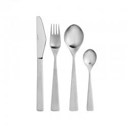 Cutlery Set 16 Pieces – Maya 2000 Steel - Stelton