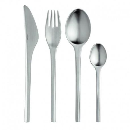 Cutlery Set 16 Pieces – Prisme Steel - Stelton STELTON STTC-22-16