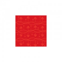 Toalha de Mesa 270cm Vermelho - Tangle - Stelton STELTON STT10213