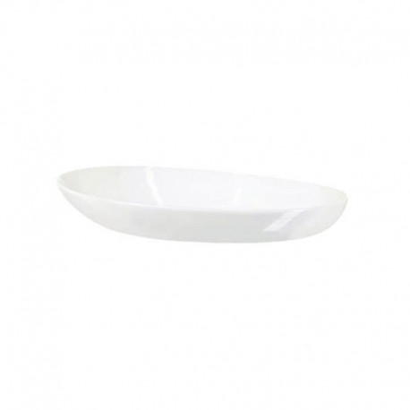 Oval Deep Plate 22,5cm – Light White - Asa Selection ASA SELECTION ASA56013017