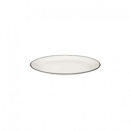 Dessert Plate ø21cm - Ligne Noire White - Asa Selection ASA SELECTION ASA1905113
