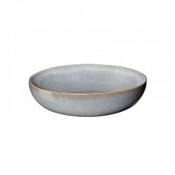 Plato para Pasta Ø21cm Azul Denim - Saisons - Asa Selection