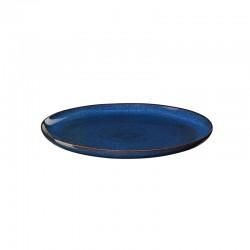 Plato de Cena Ø26,5cm Azul Medianoche - Saisons - Asa Selection