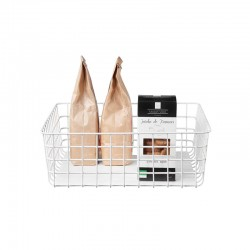 Cesto de Cocina Blanco 30x30cm - Baskets - Asa Selection