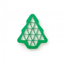 Christmas Tree Cookie Cutter Green - Lekue