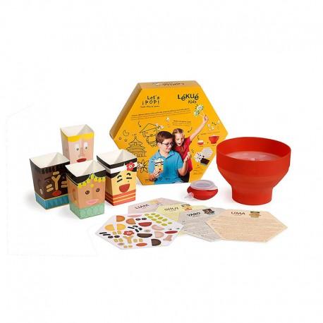 Kit para Niños - Let´s Pop - Lekue LEKUE LK3000086SURM017