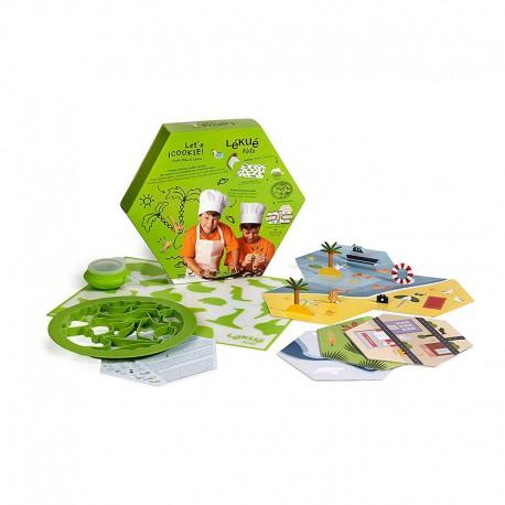 Kit para Crianças – Let´s Cookie - Lekue LEKUE LK3000087SURM017