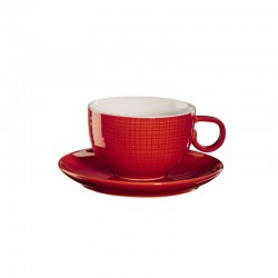 Cup with Saucer Red - Voyage - Asa Selection