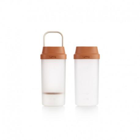 Garrafa para Preparar Leites Vegetais - Veggie Drinks Maker Castanho - Lekue LEKUE LK0220526M06M017