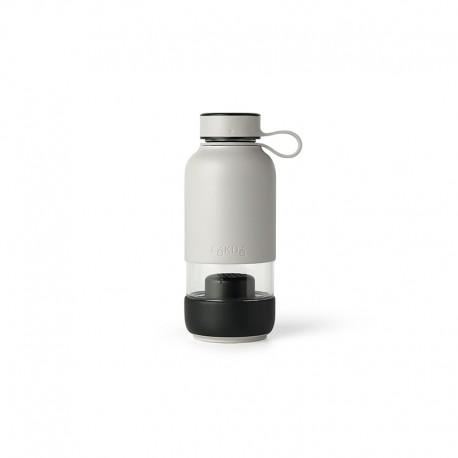 Glass Filtered Water Bottle - To Go Grey - Lekue LEKUE LK0301018G10M017