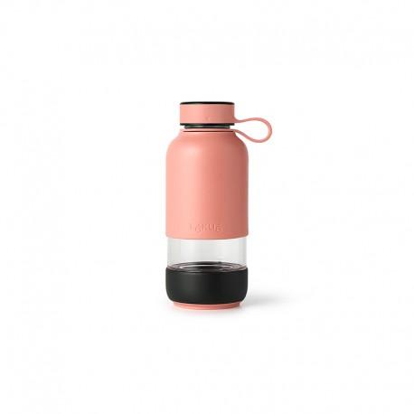 Glass Bottle Coral - To Go - Lekue LEKUE LK0302018R06M017