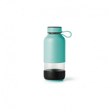 Glass Bottle Turquoise - To Go - Lekue LEKUE LK0302018Z07M017