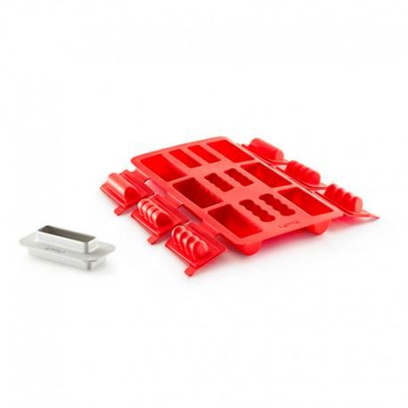 Mini Bûche Round shaped Red - Lekue LEKUE LK3000096SURM017
