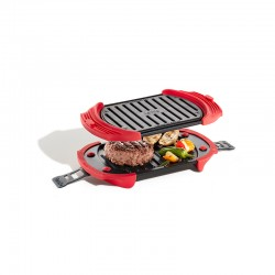 Microwave Grill Red - Lekue
