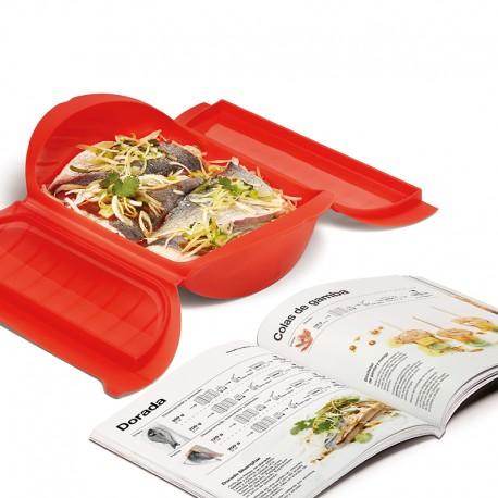 Indispensable Guide Kit (3-4 People) ES Red - Lekue LEKUE LK3502600R10U050