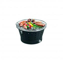 Barbecue Portátil Sem Fumos - Grillerette Preto - Food & Fun