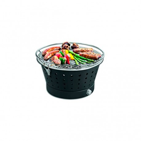 Barbacoa Portátil Sin Humos - Grillerette Negro - Food & Fun FOOD & FUN FFGRC7021