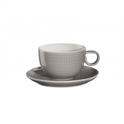 Cup with Saucer Grey - Voyage - Asa Selection