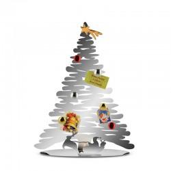 Árvore de Natal Decorativa 45cm - Bark for Christmas Prata - Alessi