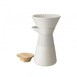 Coffee Maker 600ml Sand - Theo - Stelton