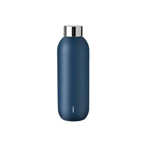 Drinking Bottle 600ml - Keep Cool Blue Dusty Blue - Stelton STELTON STT427-1
