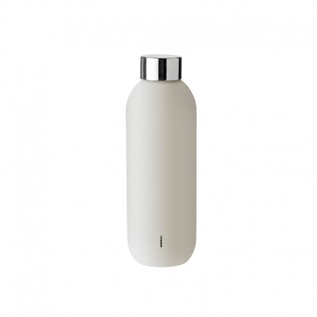 Drinking Bottle 600ml - Keep Cool Sand - Stelton STELTON STT427-2